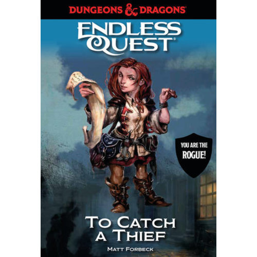 Random House D&D ENDLESS QUEST: CATCH A THIEF (SOFTCOVER)