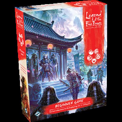 Fantasy Flight Games LEGEND OF THE FIVE RINGS RPG: BEGINNER GAME