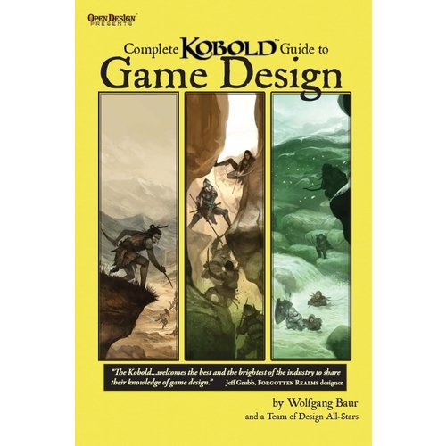 Kobold Press KOBOLD: GUIDE RPG GAME DESIGN