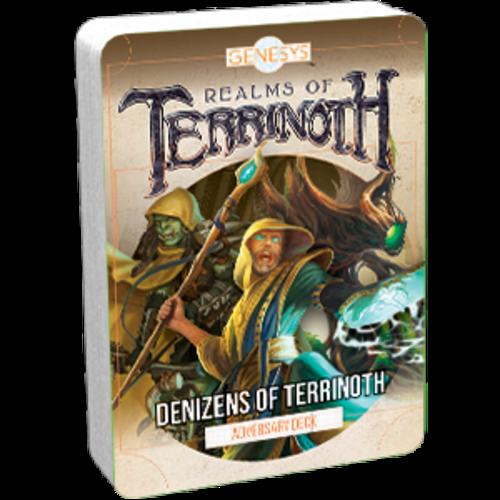 Fantasy Flight Games GENESYS RPG: DENIZENS ADVERSAR