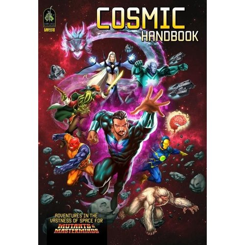 Green Ronin Publishing MUTANTS & MASTERMINDS: COSMIC HANDBOOK