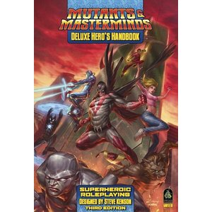 Green Ronin Publishing MUTANTS & MASTERMINDS: DELUXE HERO'S HANDBOOK