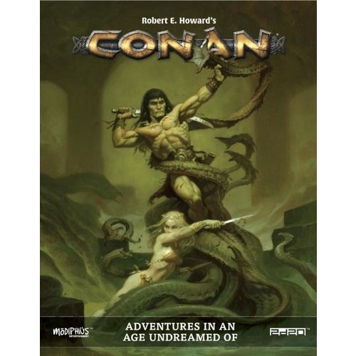 Modiphius CONAN: ADVENTURES IN AN AGE UNDREAMED OF (HARDCOVER)