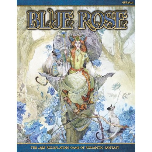 Green Ronin Publishing AGE RPG: BLUE ROSE - ROMANTIC FANTASY