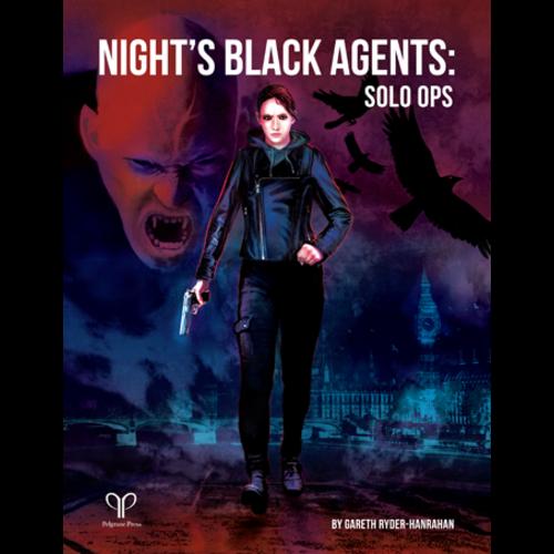 Pelgrane Press NIGHT'S BLACK AGENTS: SOLO OPS