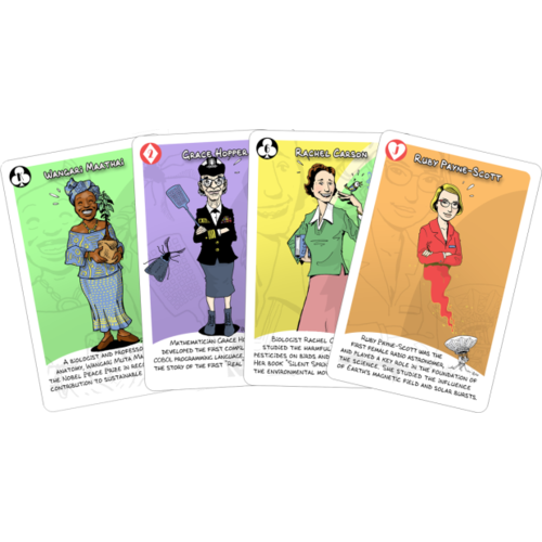 Luana Games WOMEN IN SCIENCE CARD GAME
