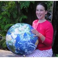 EARTHBALL INFLATABLE EARTH GLOBE