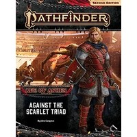PATHFINDER 2ND EDITION ADVENTURE PATH #149: AGE OF ASHES 5 - AGAINST THE SCARLET TRIAD