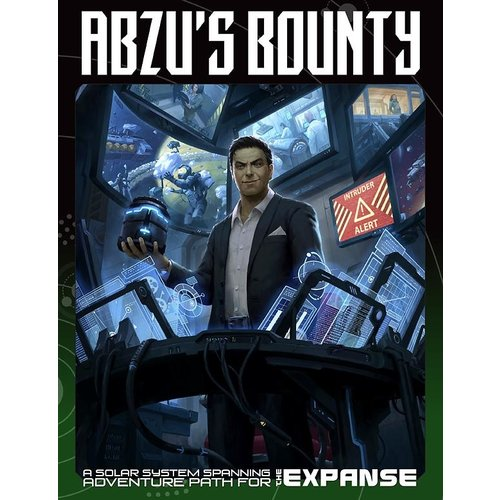 Green Ronin Publishing THE EXPANSE RPG:  ABZUS BOUNTY