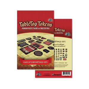Geek Tank Games TABLETOP TOKENS: CASTLE FURNITURE