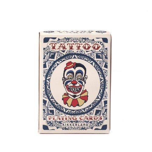 Kikkerland TATTOO PLAYING CARDS