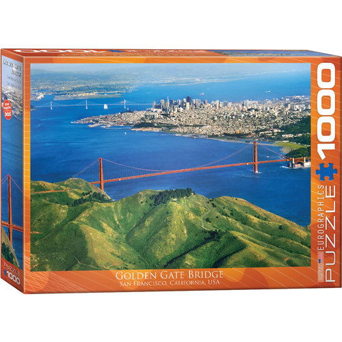 EUROGRAPHICS EG1000 GOLDEN GATE BRIDGE
