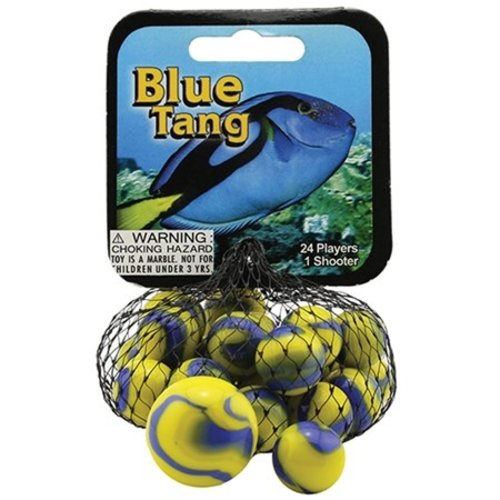 Mega Fun USA MARBLES BLUE TANG