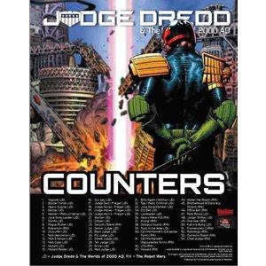 Kickstarter JUDGE DREDD 2000AD TOKENS SET