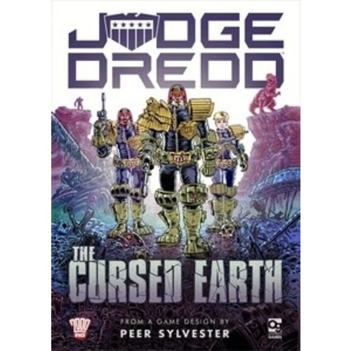 Osprey Publishing JUDGE DREDD: THE CURSED EARTH