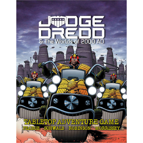 Kickstarter JUDGE DREDD 2000AD CORE RULES