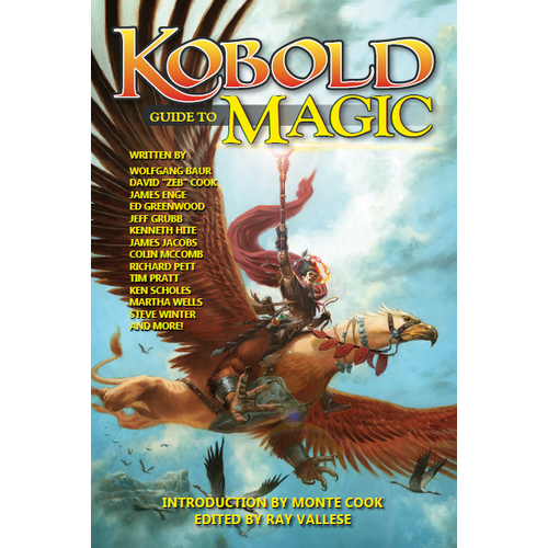 Kobold Press KOBOLD: GUIDE TO MAGIC