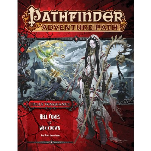 Paizo Publishing PATHFINDER RPG ADVENTURE PATH #108: HELL'S VENGEANCE - HELL COMES TO WESTCROW