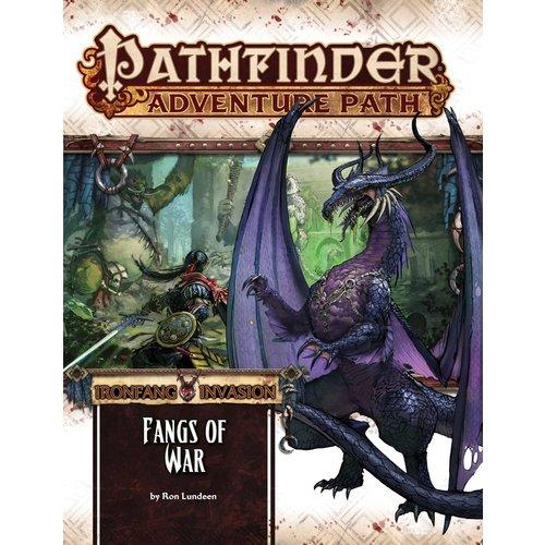 Paizo Publishing PATHFINDER RPG ADVENTURE PATH #116: IRONFANG INVASION 2 - FANGS OF WAR