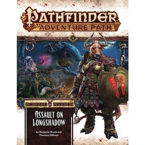 Paizo Publishing PATHFINDER RPG ADVENTURE PATH #117: IRONFANG INVASION 3 - ASSAULT ON LONGSHADOW