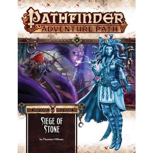 Paizo Publishing PATHFINDER RPG ADVENTURE PATH #118: IRONFANG INVASION 4 - SIEGE OF STONE