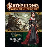 PATHFINDER RPG ADVENTURE PATH #128: WAR FOR THE CROWN 2 - SONGBIRD, SCION, SABOTEUR