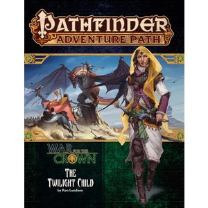 Paizo Publishing PATHFINDER RPG ADVENTURE PATH #129:  WAR FOR THE CROWN 3 - THE TWILIGHT CHILD