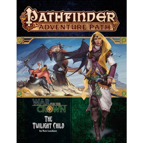 Paizo Publishing PATHFINDER RPG ADVENTURE PATH #129:  WAR FOR THE CROWN - THE TWILIGHT CHILD