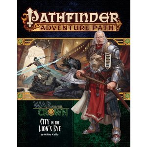 Paizo Publishing PATHFINDER RPG ADVENTURE PATH #130: WAR FOR THE CROWN 4 - CITY IN THE LION'S EYE