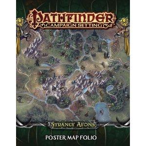 Paizo Publishing PATHFINDER CAMPAIGN SETTING: STRANGE AEONS MAP FOLIO