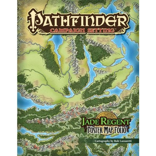 Paizo Publishing PATHFINDER CAMPAIGN SETTING: MAP FOLIO JADE REGENT