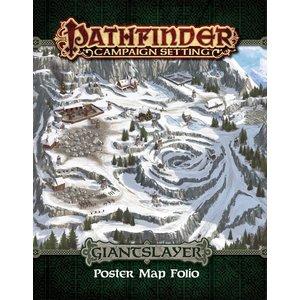 Paizo Publishing PATHFINDER CAMPAIGN SETTING: GIANTSLAYER MAP FOLIO