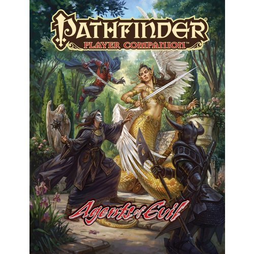Paizo Publishing PATHFINDER PLAYER COMPANION: AGENTS OF EVIL