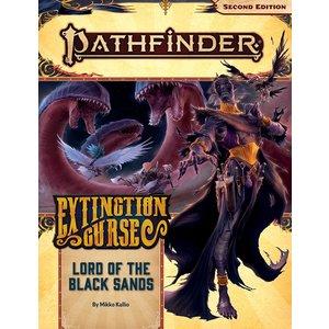 Paizo Publishing PATHFINDER 2ND EDITION: ADVENTURE PATH #155: EXTINCTION CURSE 5 - LORD OF THE BLACK SANDS