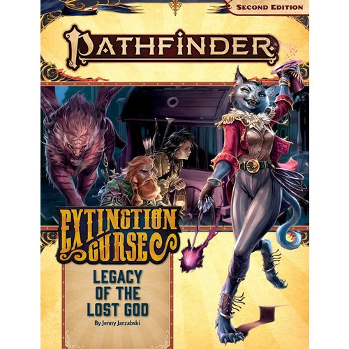 Paizo Publishing PATHFINDER 2ND EDITION: ADVENTURE PATH #152: EXTINCTION CURSE 2 - LEGACY OF THE LOST GOD