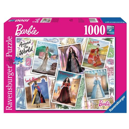 Ravensburger RV1000 BARBIE AROUND THE WORLD