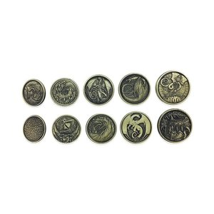 Norse Foundry ADVENTURE COINS: DRAGONS (10)