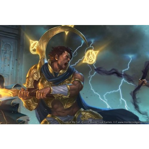 Monte Cook Games CYPHER SYSTEM: GODS OF THE FALL