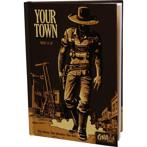 Van Ryder Games GRAPHIC NOVEL ADVENTURES: YOUR TOWN