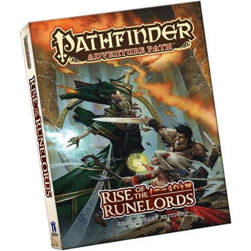 Paizo Publishing PATHFINDER: ADVENTURE PATH: RISE OF THE RUNELORDS ANNIVERSARY (POCKET EDITION)