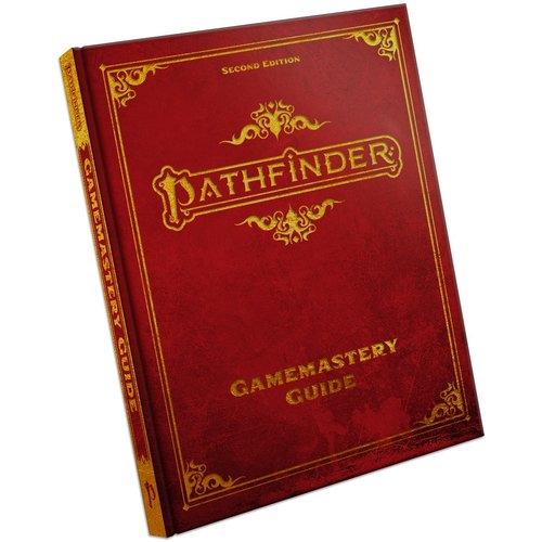 Paizo Publishing PATHFINDER 2ND EDITION: GAMEMASTERY GUIDE HARDCOVER (SPECIAL EDITION)