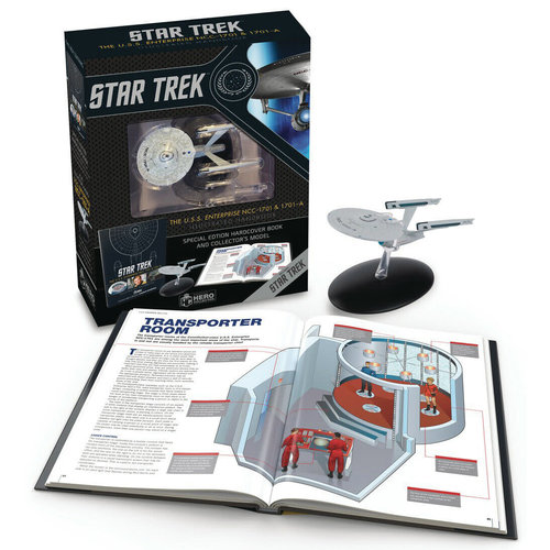 Random House STAR TREK: NCC-1701 ILLUSTRATED BOOK