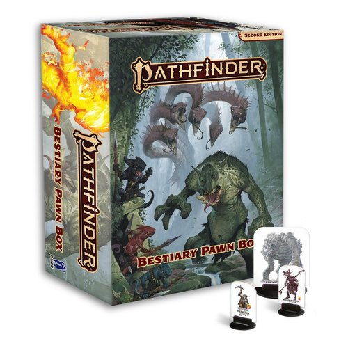 Paizo Publishing PATHFINDER 2ND EDITION: PAWNS - BESTIARY BOX
