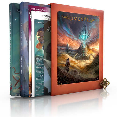 Monte Cook Games NUMENERA CORE SLIPCASE