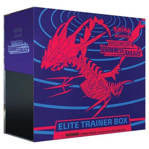 Pokemon USA POKEMON: SWORD & SHIELD 3: DARKNESS ABLAZE - ELITE TRAINER BOX