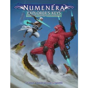 Monte Cook Games NUMENERA EXPLORER'S KEYS