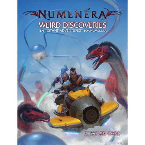 Monte Cook Games NUMENERA WEIRD DISCOVERIES