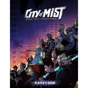 Modiphius CITY OF MIST: PLAYER'S GUIDE