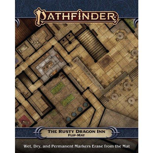Paizo Publishing PATHFINDER FLIP-MAT: THE RUSTY DRAGON INN