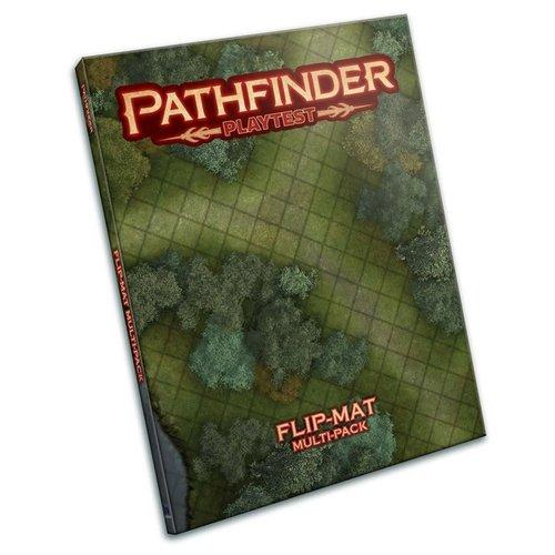 Paizo Publishing PATHFINDER PLAYTEST FLIP-MAT: MULTI-PACK